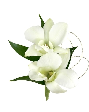 White Orchids Flower Arrangement