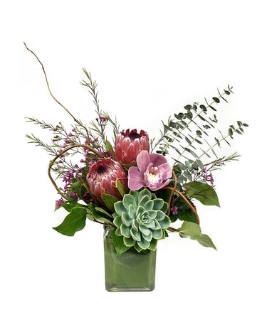 Tropical Breeze by Cactus Flower Flower Arrangement