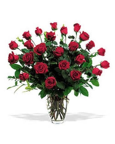 Two Dozen Red Roses-Out of Town Flower Arrangement