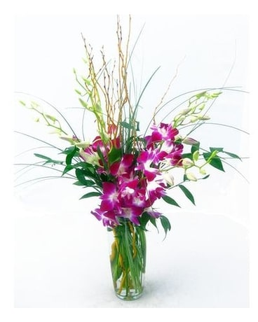 Purple Passion by Cactus Flower Flower Arrangement