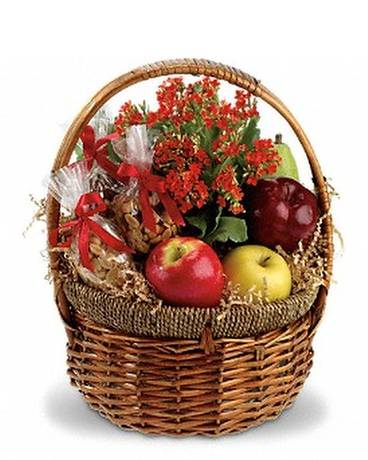 Health Nut Basket Basket Arrangement