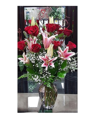Be my love forever Flower Arrangement