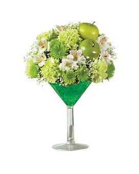 Apple Martini Bouquet Flower Arrangement