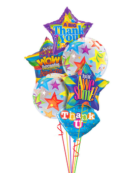 Thank you Balloon Bouquet Gifts
