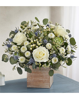 Country Pearl Flower Arrangement