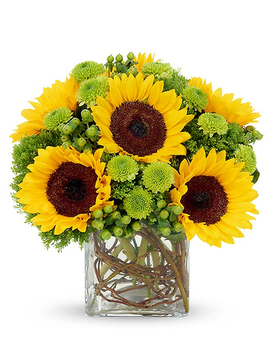 Sunflower Surprise Flower Arrangement