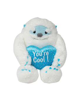 Yeti Bear Plush- 16 Inch Flower Arrangement