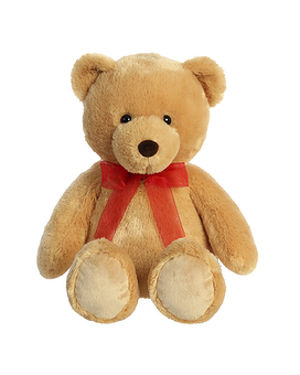 Bear Tan with red bow Gifts