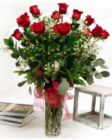 Classic Rose Arrangement Flower Arrangement