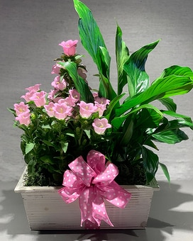 Spring Planter Flower Arrangement