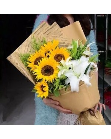 Sunny and Lovely Bouquet Bouquet