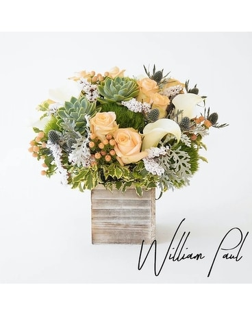 Monterey Bay by William Paul Flower Arrangement