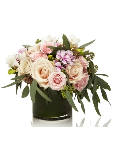 Blush Petals by William Paul Flower Arrangement