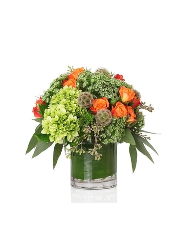 Sunset Blooms by William Paul Flower Arrangement