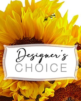 William Paul  Designers Choice Flower Arrangement