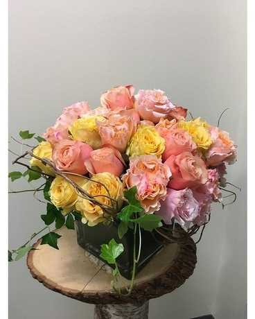 All Roses Flower Arrangement