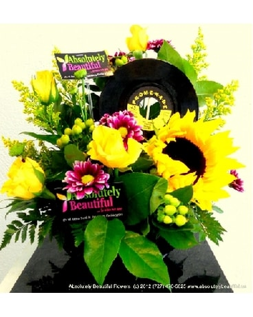 Rock 'n' Roll! Celebration! Flower Arrangement