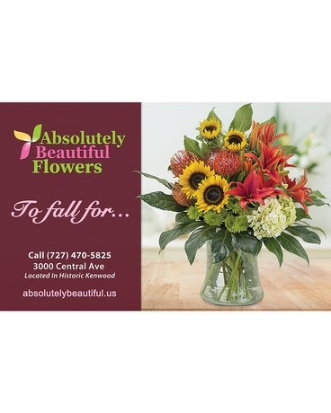 To Fall For... Flower Arrangement