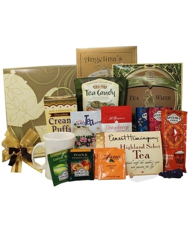 Tea Baskets Gift Basket