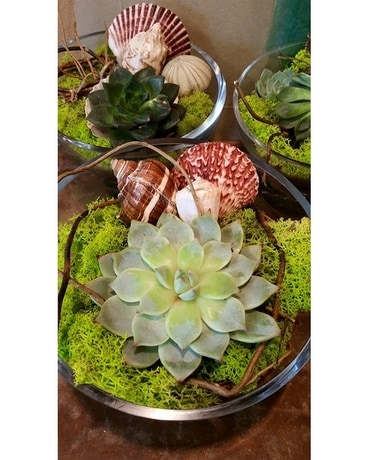 Succulent Sea's Flower Arrangement