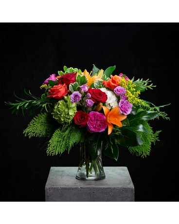 Over the Rainbow Flower Arrangement