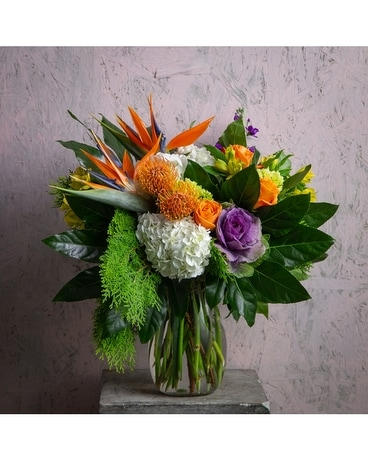 Tropical Smoothie Flower Arrangement