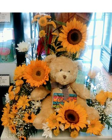 Bear Well! Flower Arrangement