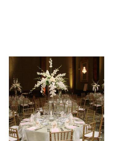White Centerpiece Funeral Arrangement