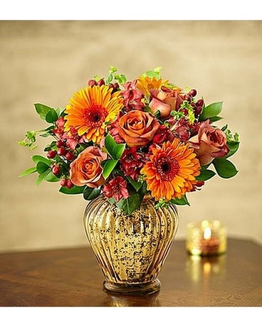 In Love With Fall Bouquet - Flower Arrangement