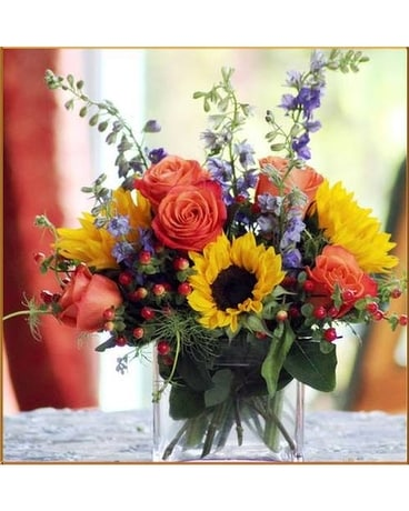 Flowers & More Sunrise Bouquet Flower Arrangement