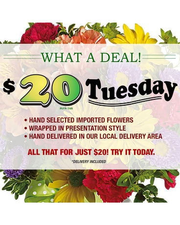 $30 Thursday Flower Arrangement