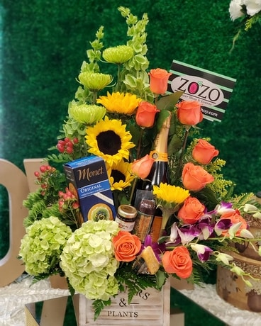 CELEBRATION ZOZO Flower Arrangement
