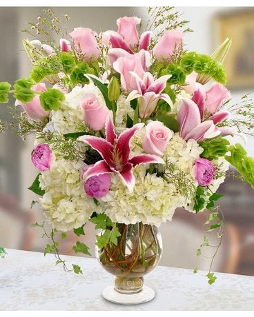 Luxurious Luster Flowers Flower Arrangement
