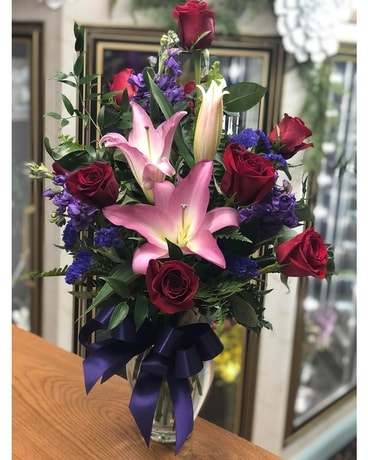 Royal Romance Flower Arrangement