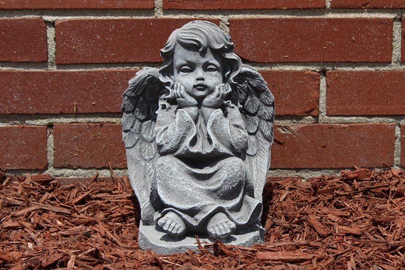 Concrete Garden Angel