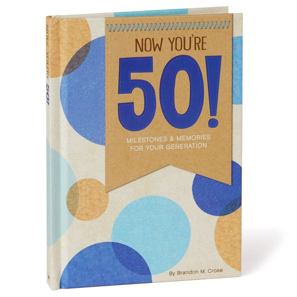 Milestone Birthday Book