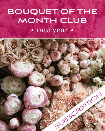 Bouquet of the Month Club Flower Arrangement