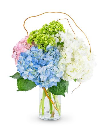 Sweet Hydrangea Flower Arrangement