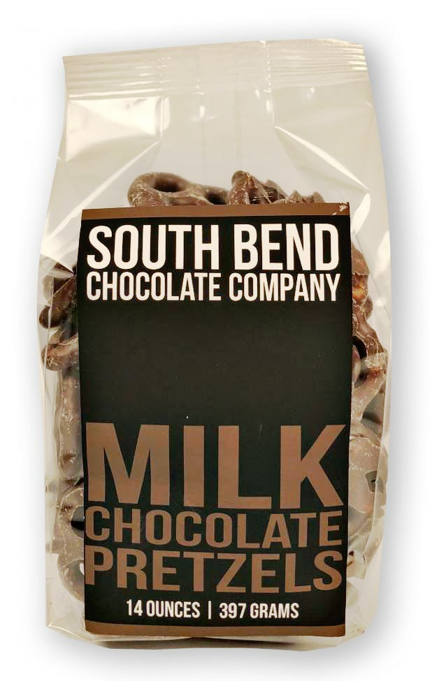South Bend Milk Chocolate Pretzels
