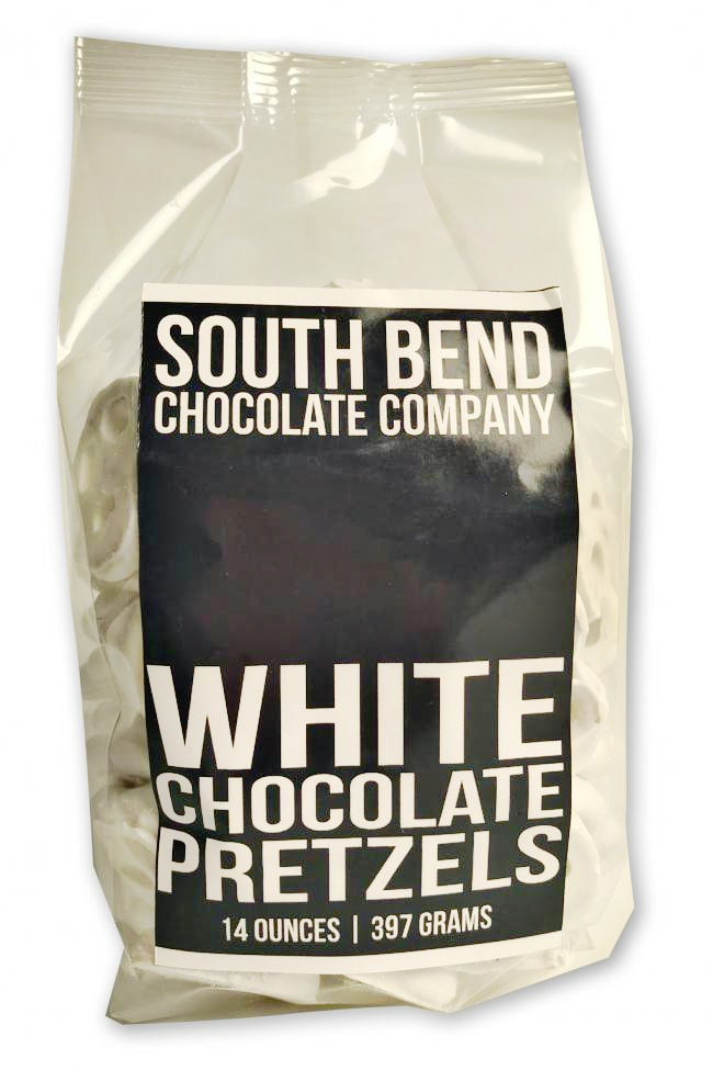 South Bend White Chocolate Pretzels