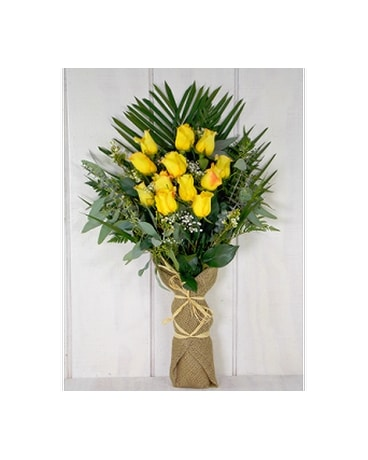 Good Day Sunshine Flower Arrangement