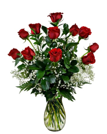 Premium Quality Red Roses Flower Arrangement