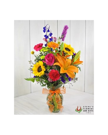 Color Binge Flower Arrangement