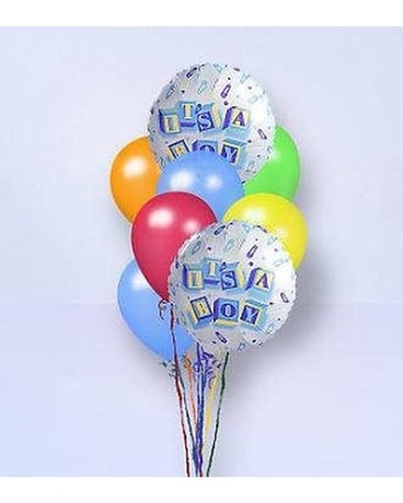 Steve\'s It\'s a Boy Balloon Bouquet in Indianapolis IN - Steve\'s ...