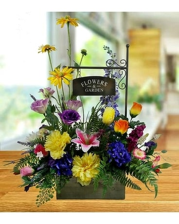 Artificial Spring Morning Garden Flower Arrangement