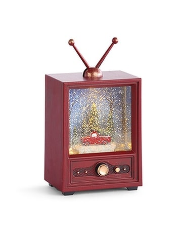 Musical, Light-Up, Television Snow Globe Gifts