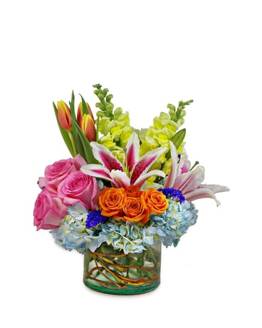 Sweet Tart Flower Arrangement