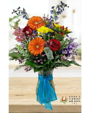 Boldly Speaking Flower Arrangement