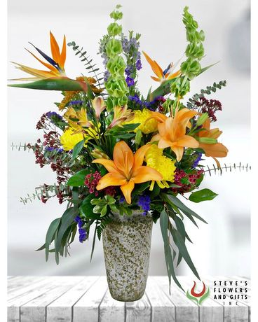 All The Bright Moves Flower Arrangement