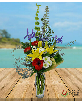 Smooth Sailing Flower Arrangement